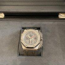 Audemars Piguet Royal Oak Offshore Chronograph Titan 44mm Grå Ingen tall