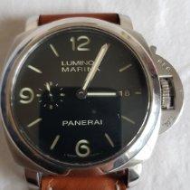 Panerai Luminor Marina Automatic Steel 52mm Black Arabic numerals