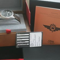 Oris Royal Flying Doctor Service Limited Edition Acero 45mm Negro Arábigos