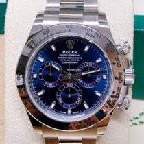 Rolex White gold Automatic Blue Arabic numerals 40mm new Daytona