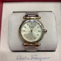 Salvatore Ferragamo 34mm Quartz new
