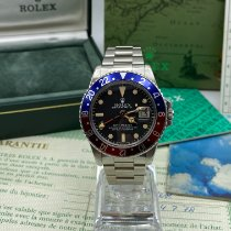 Rolex 1675 Steel 1976 GMT-Master 40mm pre-owned