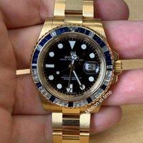Rolex GMT-Master II Yellow gold 40mm Black United States of America, New York, New York