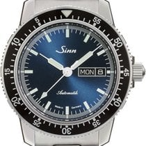 Sinn new Automatic Display back Central seconds Luminous hands Luminous indices 41mm Steel Sapphire crystal