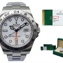 Rolex Explorer II Acero 42mm Blanco