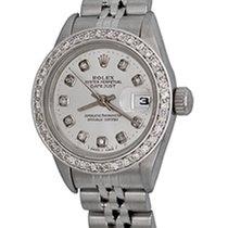 Rolex Lady-Datejust 69174 Sehr gut Stahl 25mm Automatik