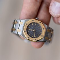 Audemars Piguet Royal Oak Lady Goud/Staal 26mm Grijs
