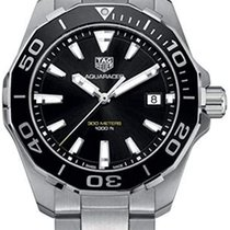 TAG Heuer Aquaracer 300M nuevo 2021 Cuarzo Reloj con estuche y documentos originales WAY111A.BA0928