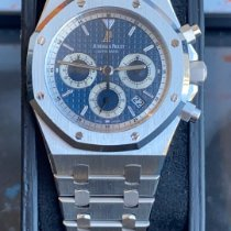 Audemars Piguet Royal Oak Chronograph Or blanc 39mm Blanc France, nice