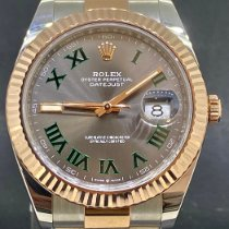 Rolex Datejust II Or/Acier 41mm Gris Romain