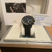 IWC Aquatimer Chronograph Ocel 44mm Černá Bez čísel