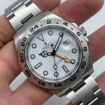 Rolex Explorer II Zeljezo 42mm Bjel Bez brojeva