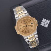 Patek Philippe 3800/2 Zlato/Zeljezo 1985 Nautilus 37mm rabljen