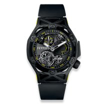 Hublot Techframe Ferrari Tourbillon Chronograph Koolstof Zwart