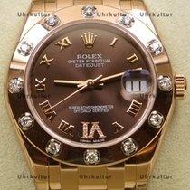 Rolex 81315 Oro rosa 2019 Lady-Datejust Pearlmaster 34mm nuevo