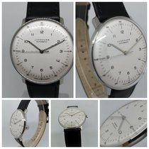 Junghans max bill Automatic Otel 38mm Argint Arabic