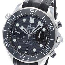 Omega Seamaster Diver 300 M Ocel 44mm Černá