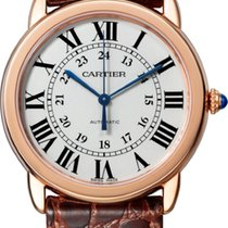 Cartier Ronde Solo de Cartier Pозовое золото 36mm Cеребро Римские
