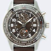 IWC Pilot Chronograph nouveau 2020 Remontage automatique Montre avec coffret d'origine et papiers d'origine IW395003