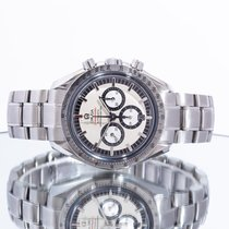 Omega Speedmaster Staal 42mm Wit