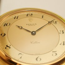 Rolex Cellini Geelgoud 48mm Goud Arabisch