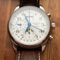 Longines Master Collection Steel 42mm White Arabic numerals United States of America, Illinois, Chicago