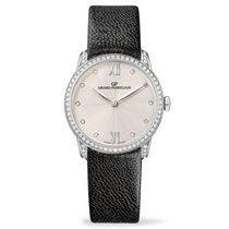Girard Perregaux White gold Automatic Silver 30mm new 1966
