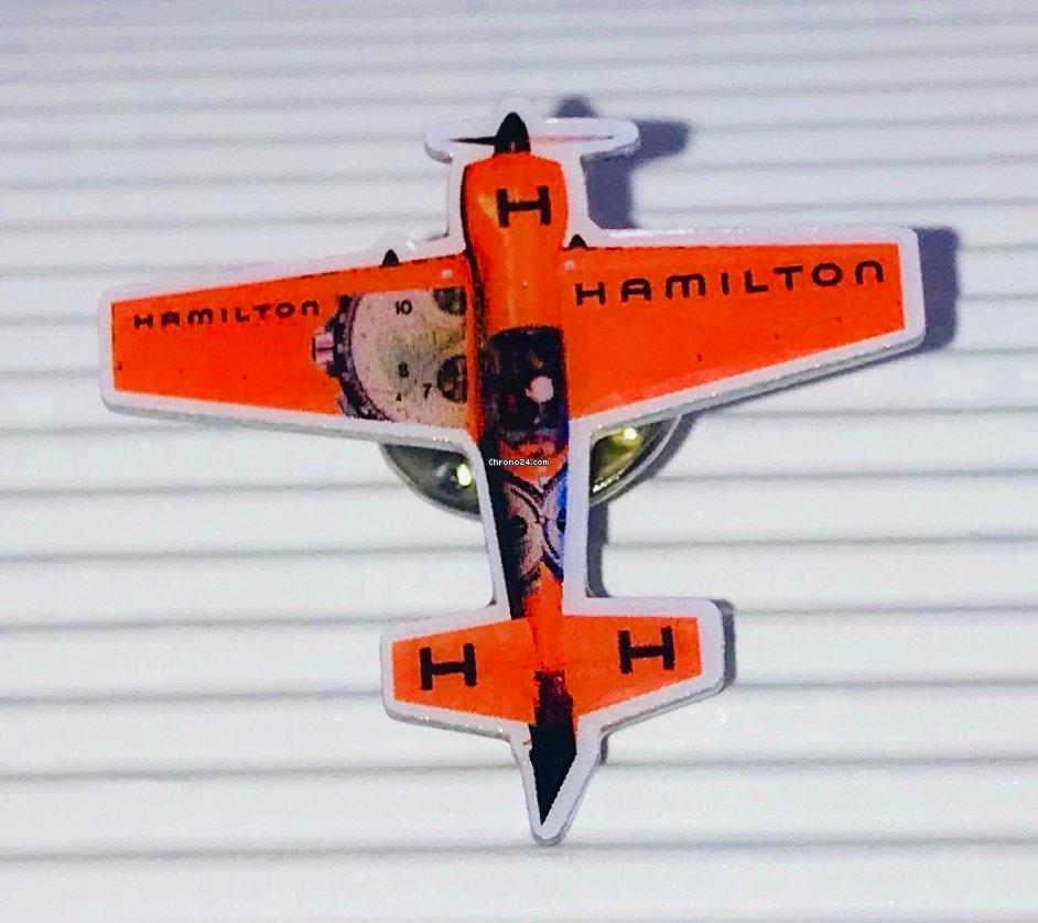 Hamilton Corona//Crown acciaio//steel 6,3mm passo tige 90 tubo//tube Circa 2,6