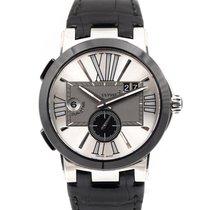 Ulysse Nardin Executive Dual Time Otel 43mm Argint Roman