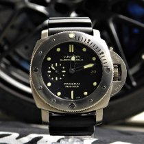 Panerai Luminor Submersible 1950 3 Days Automatic Titanium 47mm Black No numerals United States of America, Pennsylvania, Huntingdon Valley