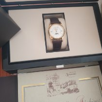Patek Philippe Perpetual Calendar Yellow gold Silver (solid) Roman numerals