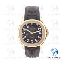 Patek Philippe Aquanaut Rose gold 40mm Brown Arabic numerals United States of America, New York, New York