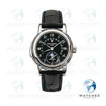 Patek Philippe Minute Repeater Perpetual Calendar Platinum 37mmmm Black