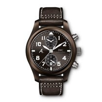 IWC Pilot Chronograph Ceramic 46mm Brown Arabic numerals