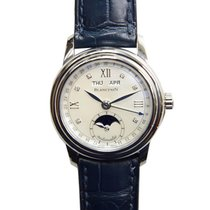 Blancpain Léman Moonphase Steel 33mm White Roman numerals