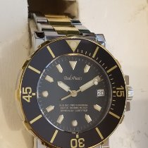 Paul Picot Gold/Steel Automatic Paul Picot Le Plongeur No.1, Sub 300, Diver's Chronometer pre-owned