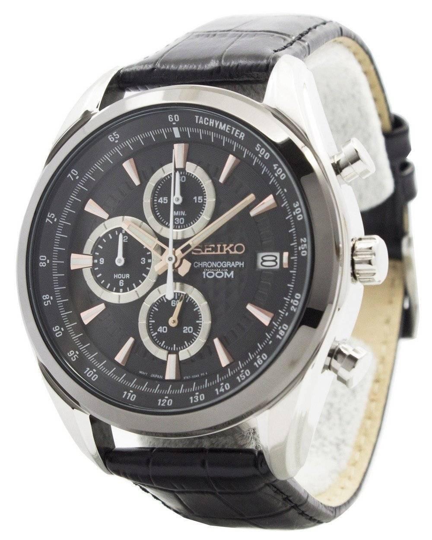 Seiko Quartz Chronograph SSB183 SSB183P1 SSB183P Men's Watch