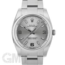 Rolex Oyster Perpetual 34 35mm Argent