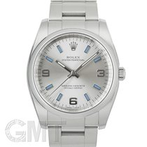Rolex Oyster Perpetual 34 34mm Argent