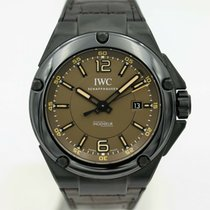 IWC Ceramic Automatic Brown 46mm pre-owned Ingenieur AMG
