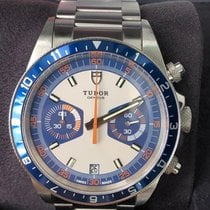 Tudor Heritage Chrono Blue Steel 42mm Blue