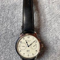 Glashütte Original Senator Observer Aço 44mm Branco