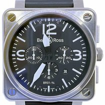 Bell & Ross BR 01-94 Chronographe Steel 46mm Black No numerals United States of America, Florida, Naples
