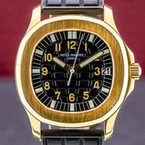 Patek Philippe Yellow gold Automatic Black Arabic numerals 35mm pre-owned Aquanaut
