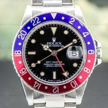 Rolex GMT-Master Steel 40mm Black Arabic numerals United States of America, Massachusetts, Boston