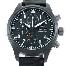 IWC IW3891-01 Ceramic Pilot Chronograph Top Gun 45mm new United States of America, New York, New York
