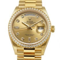 Rolex Day-Date 36 Yellow gold 36mm Champagne United States of America, New York, New York