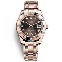 Rolex 81315 Oro rosa 2020 Lady-Datejust Pearlmaster 34mm nuevo
