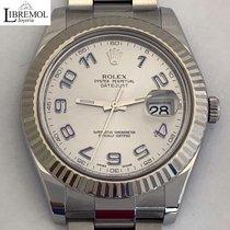 Rolex Datejust II Сталь 41mm Cерый Aрабские