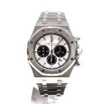 Audemars Piguet Royal Oak Chronograph Steel 41mm Silver No numerals United Kingdom, London